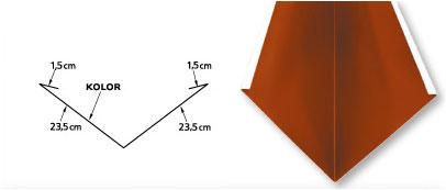 Rynna koszowa standard 50cm